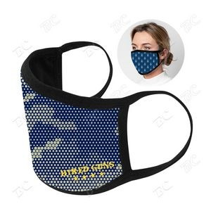 3 ply Sublimation Cotton Mask - US STOCK
